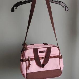 Baby Essentials Pink Diaper Bag